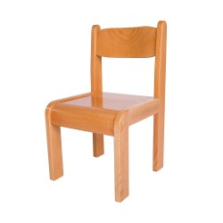 Beech Wood Chair. (Set Of 2) Size:L33xW30xH56cm Seat High: 30cm