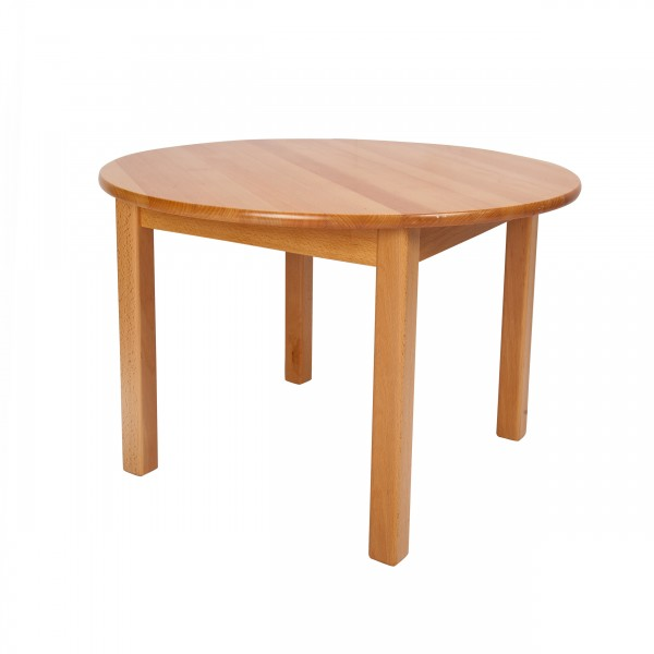 Beechwood round table diameter 60 cm ljkf407 1 by - Table largeur 60 cm ...