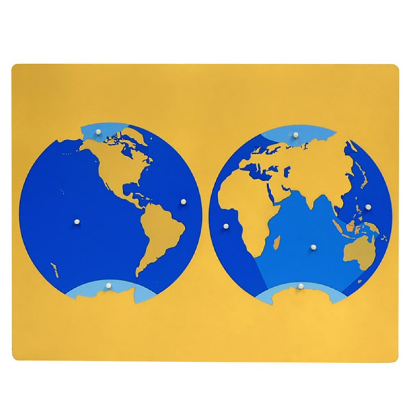 World puzzle ljge003 by leader joy montessori usa puzzle map of ocean gumiabroncs Choice Image