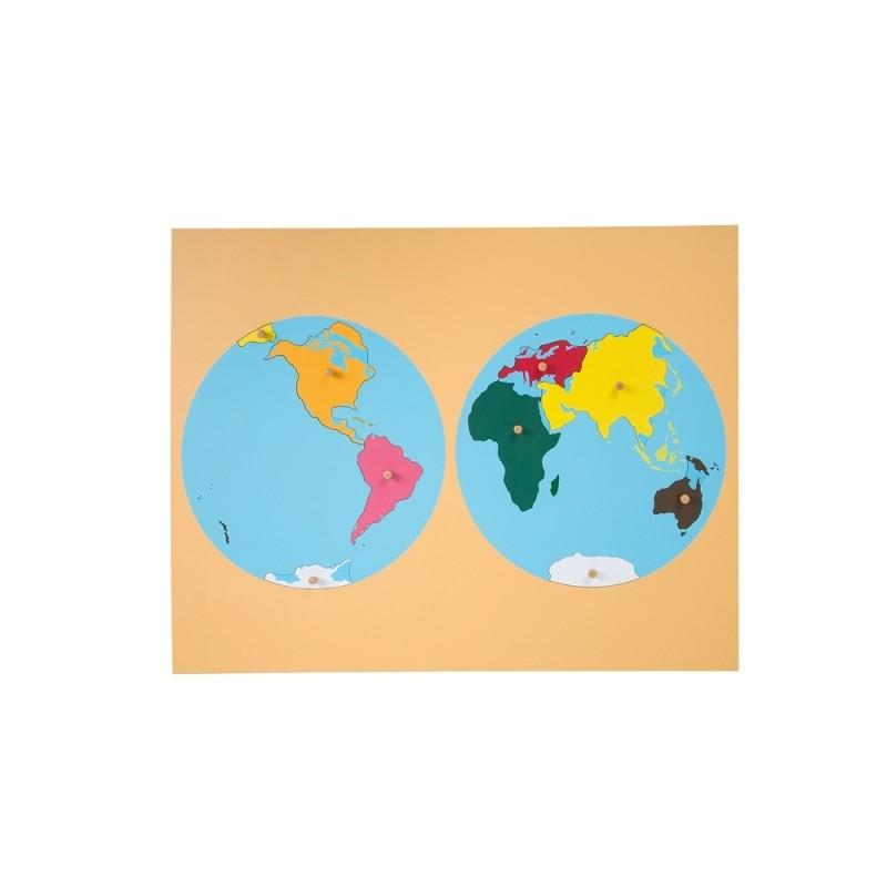 World puzzle ljge003 by leader joy montessori usa world puzzle gumiabroncs Choice Image