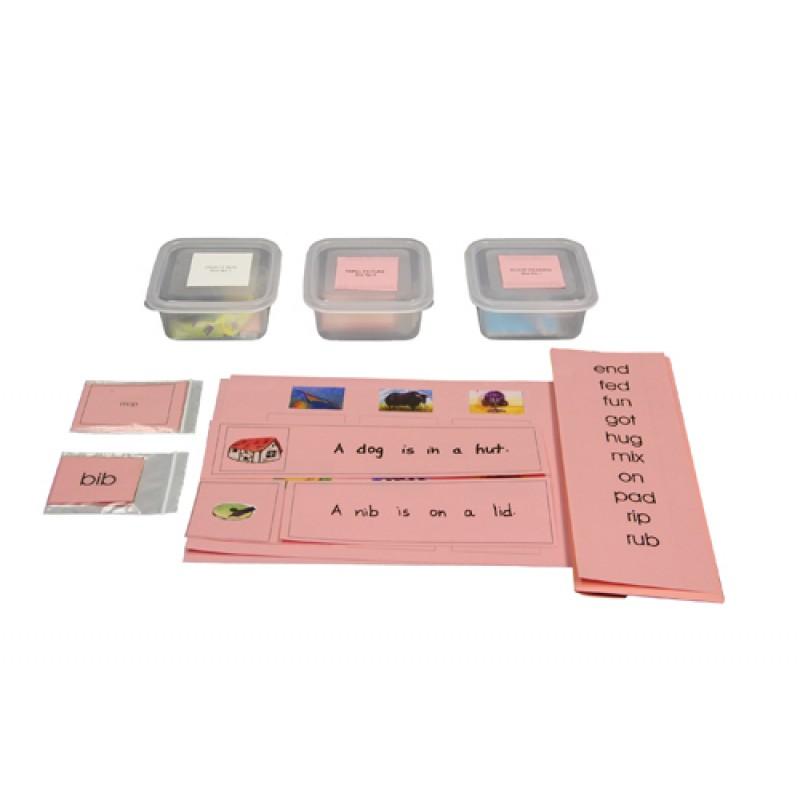 pink scheme montessori